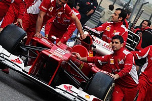Formula 1 'B' Ferrari not ready yet - reports