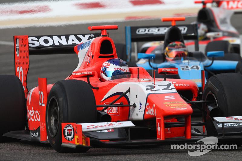 Arden Bahrain race 2 report