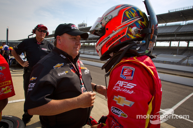 Saavedra rolls to top time in second day of practice at the Speedway