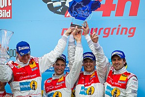 Endurance Audi triumphs with 1-2 finish at Nurburgring 24 Hours
