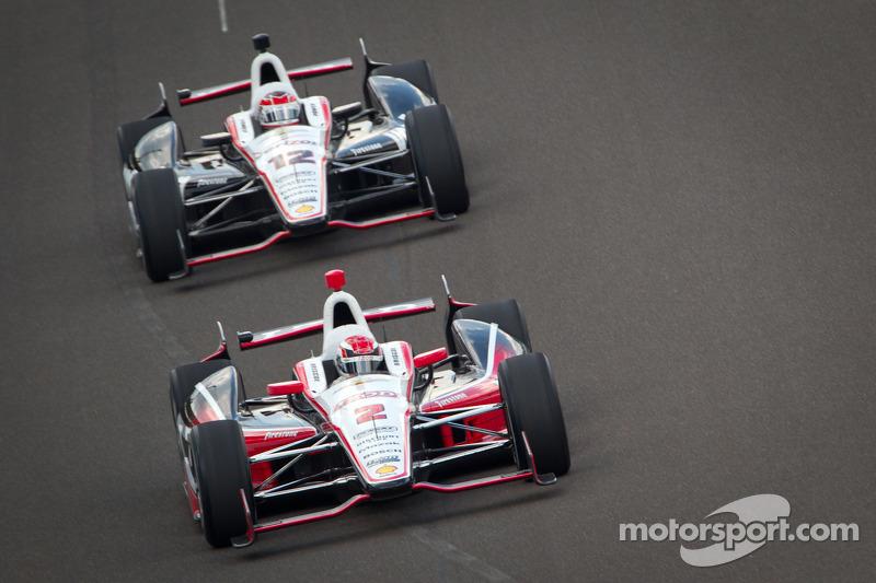 Team Penske enjoys productive Bump Day at Indianapolis