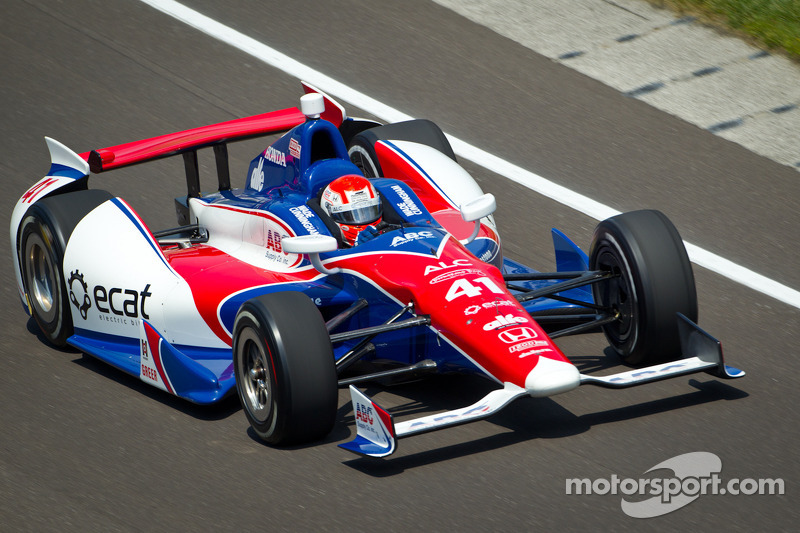 Cunningham's first goal  at Indy 500  is to finish