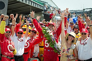 IndyCar Chip Ganassi Racing, Franchitti take Indianapolis 500 win