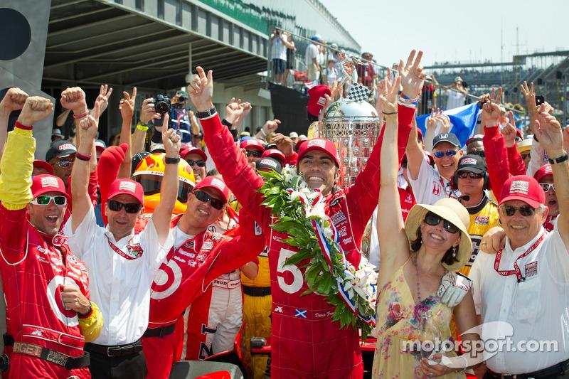 Chip Ganassi Racing, Franchitti take Indianapolis 500 win