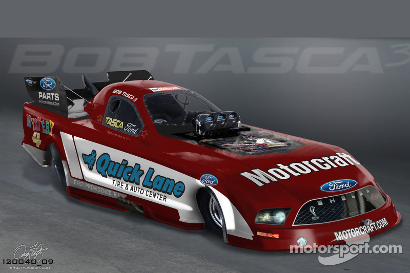 Bob Tasca Sr honored with special Mystery 4 paint scheme for Englishtown