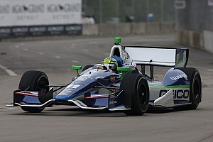 IndyCar Rain limits first day of practice for KV Racing at Detroit GP