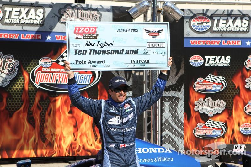 Tagliani grabs back-to-back Texas Motor Speedway poles