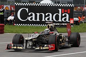 Formula 1 Villeneuve thinks Lotus might 'drop' Raikkonen