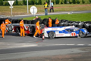 Le Mans Toyota feels joy to pain in seconds