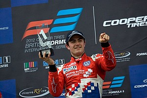 BF3 Race report Jack Harvey claimed his fourth victory of the year in race 3 at Brands Hatch
