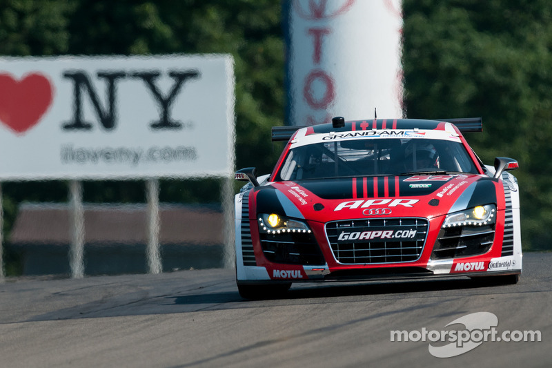 Stippler takes APR Audi R8 to GT front row at Watkins Glen