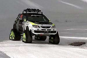 Formula Drift Special feature Ken Block's Trax STI Car - Video