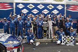NASCAR Cup Interview Kahne says Francis' pit strategy the key to his victory at Loudon