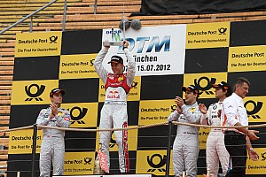 DTM Race report Ekström wins in front of spectacular backdrop in Olympiastadion