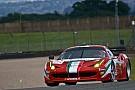 Perazzini-Cioci-Griffin are second in GTE Am at Donington