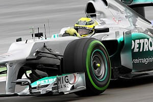 Formula 1 Practice report Nico Rosberg will take a five-place grid penalty