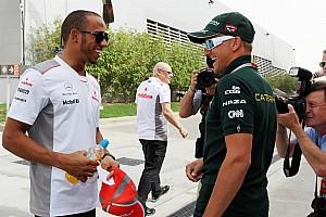 Formula 1 Commentary Hamilton hopes Kovalainen gets fast car for 2013