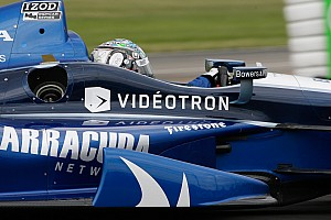 IndyCar Breaking news Alex Tagliani earns top-five in home-nation event