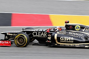 Formula 1 Race report Podium finish for Lotus F1 Team in German Grand Prix
