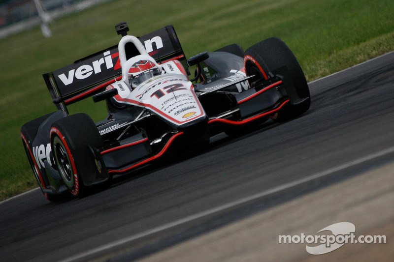 Will Power fastest on first day of practice at Mid-Ohio
