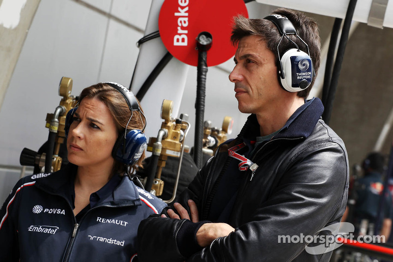 Wolff rules out testing Williams car - Video