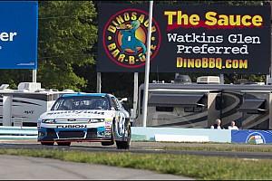NASCAR Cup Race report Ambrose last-Lap pass wins Watkins Glen for Richard Petty Motorsports