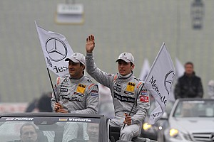 DTM Preview Paffett and Mercedes look to extend their points lead at Nürburgring
