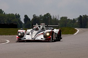 ALMS Qualifying report Muscle Milk Pickett Racing claims fifth pole of the season at Road America