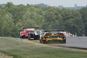 ALMS Race report Corvettes fourth and sixth in wild finish at Road America