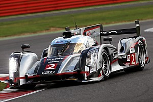 WEC Qualifying report Grid positions one and two for Audi at Silverstone