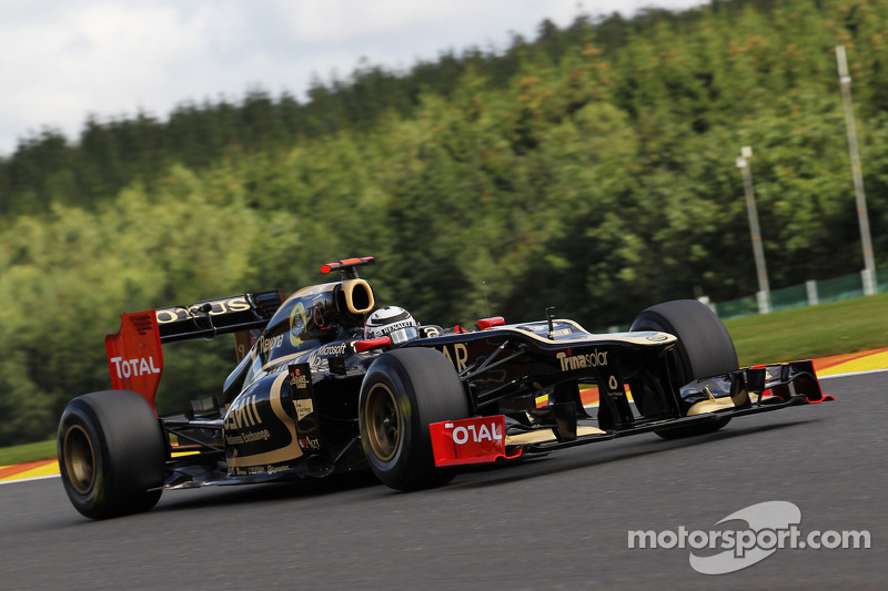 Räikkönen fourth and Grosjean ninth in Spa qualifying