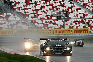 Blancpain Sprint Race report The Belgian Audi Club Team WRT back to victory lane in Moscow!