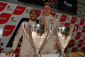 Blancpain Sprint Race report French team hits back in Moscow