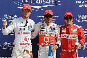 Formula 1 Qualifying report Hamilton steals Italian pole