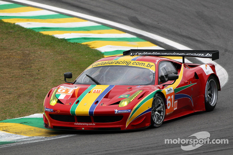 Turner and Bernoldi claim GTE poles at Interlagos