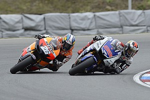 MotoGP Qualifying report Pole for Pedrosa and third row for Rea in San Marino
