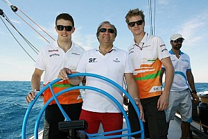 Formula 1 Breaking news Force India pair staying in 2013 - Mallya