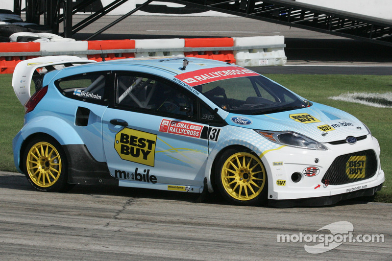 Andreas Eriksson to replace Marcus Grönholm in Global RallyCross at Las Vegas