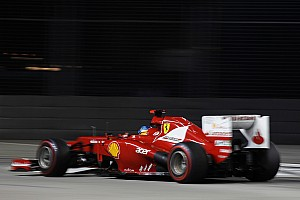 Formula 1 Qualifying report Alonso and Massa both on 13 in Singapore