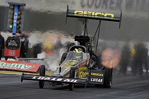 NHRA Qualifying report Lucas and crew chief Brooks ready for Texas final eliminations