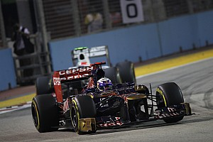 Formula 1 Race report Toro Rosso has a good performance on Singapore GP