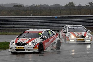 BTCC Race report Shedden leads team mate Neal in championship fight after Rockingham