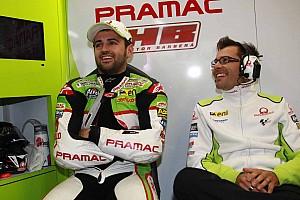 MotoGP Practice report Barberà deals with wet first day at Motorland Aragon