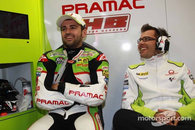 Barberà deals with wet first day at Motorland Aragon