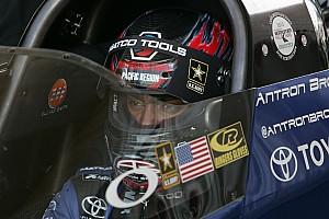 NHRA Qualifying report Antron Brown takes top fuel pole at Gateway