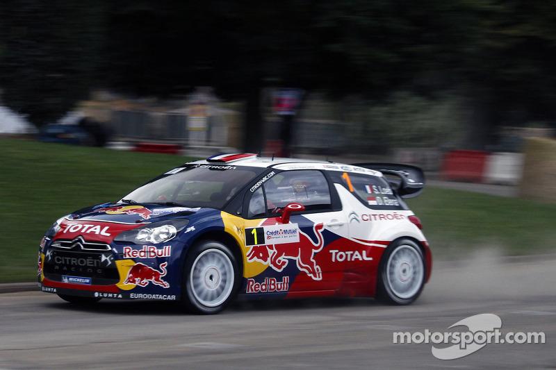 Loeb extends lead in Rallye de France for Citroen