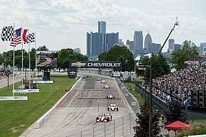 IndyCar Breaking news New track configuration for Detroit