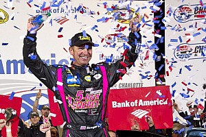 NASCAR Cup Race report Bowyer gets back into championship contention with Charlotte 500 win