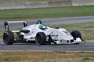 USF2000 Race report La Rocca puts stamp on season with sweep at The Glen