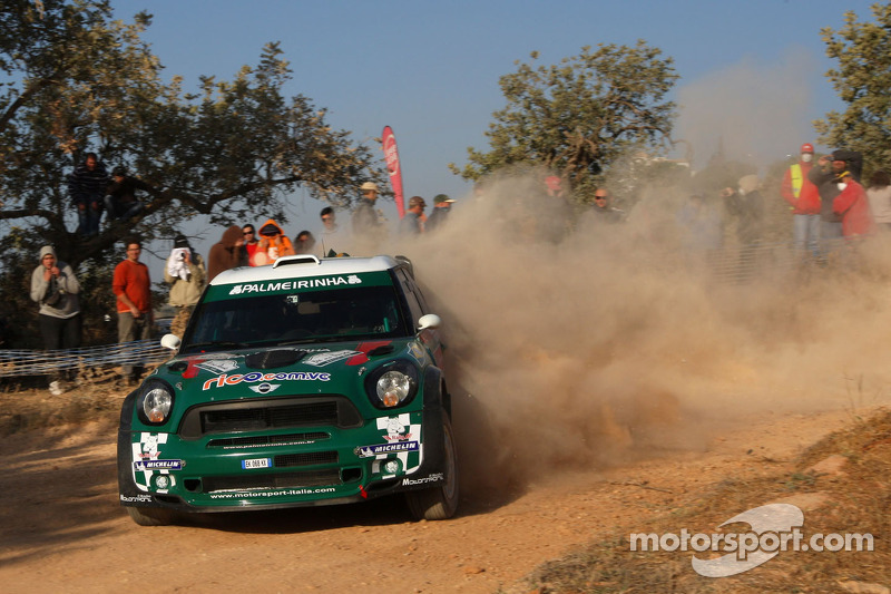 WRC Team MINI Portugal Rally Italia Sardegna day one